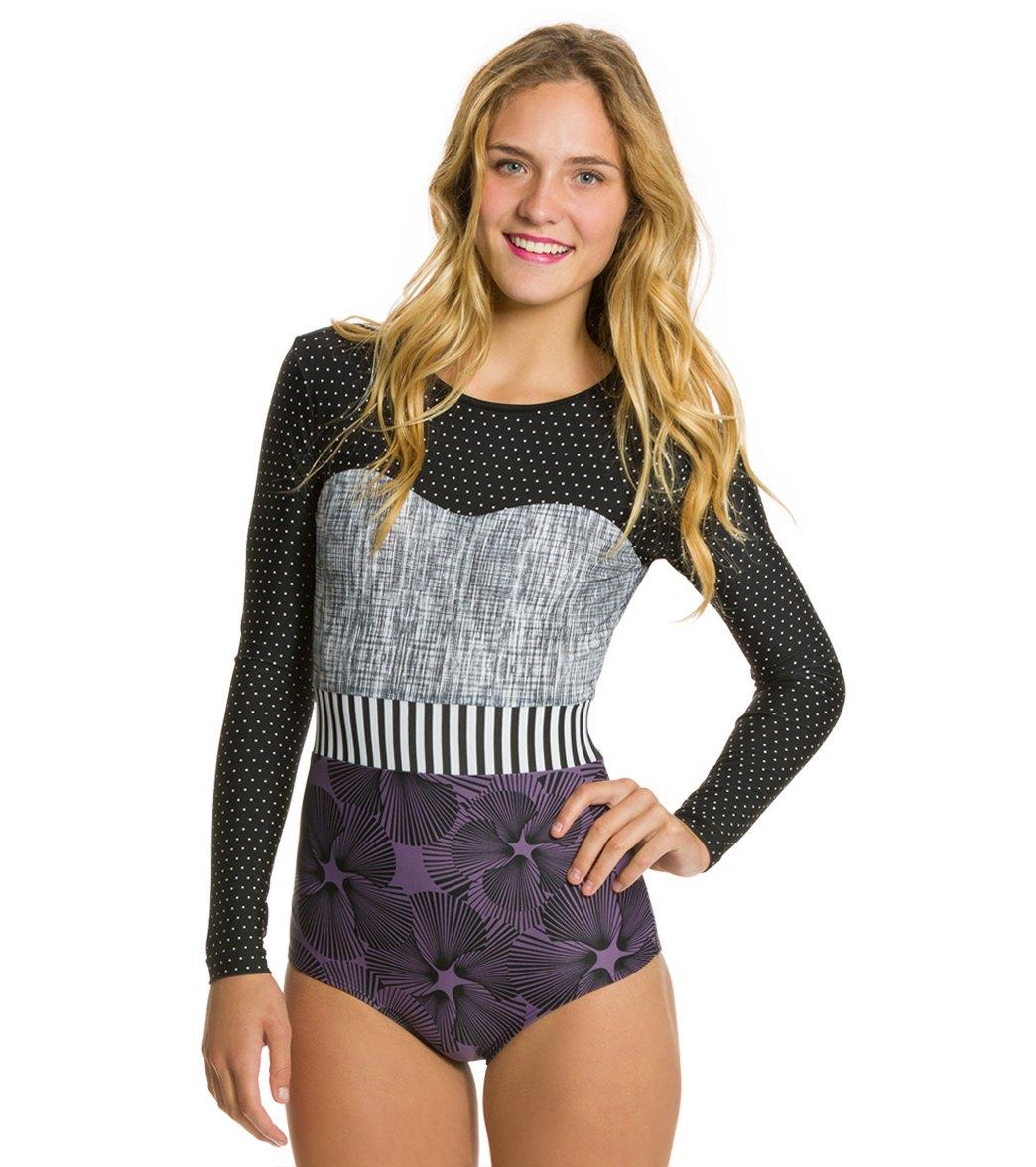 Seea Hermosa Black Dot Surf Suit at SwimOutlet.com - Free Shipping b5e94f8d6