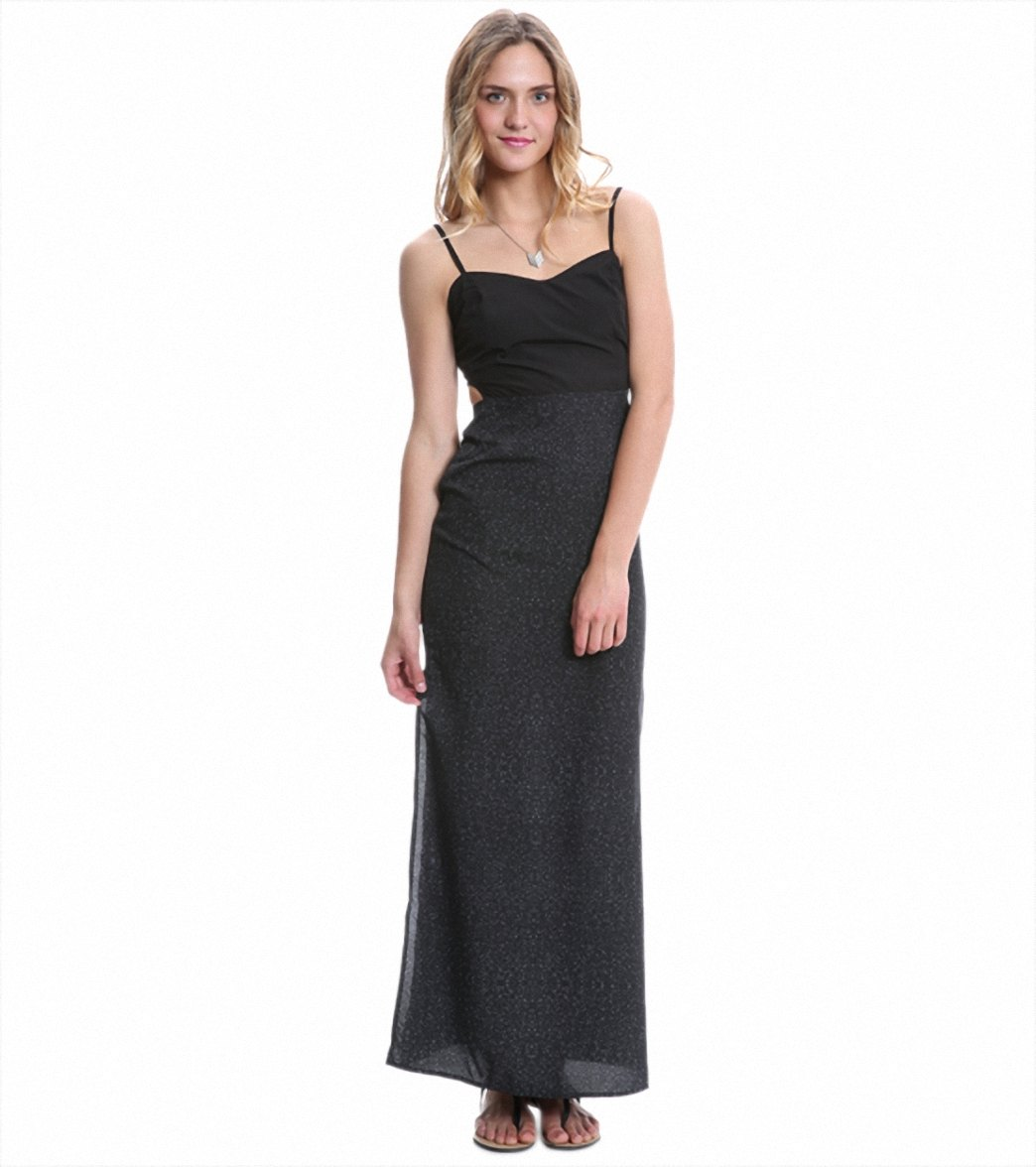 74c5215c12e Hurley Women s Paige Cut Out Maxi Dress at SwimOutlet.com - Free Shipping