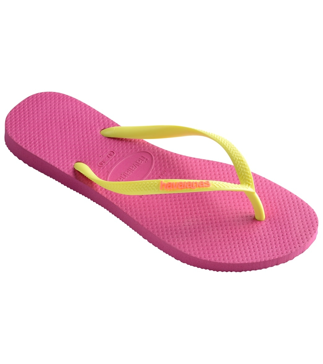 409655e988ac Havaianas Women s Slim Logo Pop Up Flip Flop at SwimOutlet.com