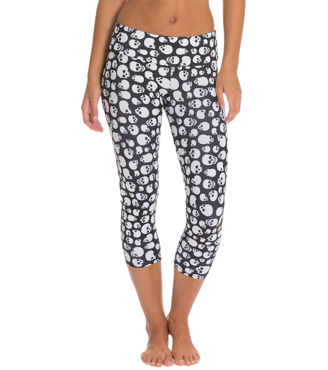 Onzie Yoga Capri Leggings at YogaOutlet.com