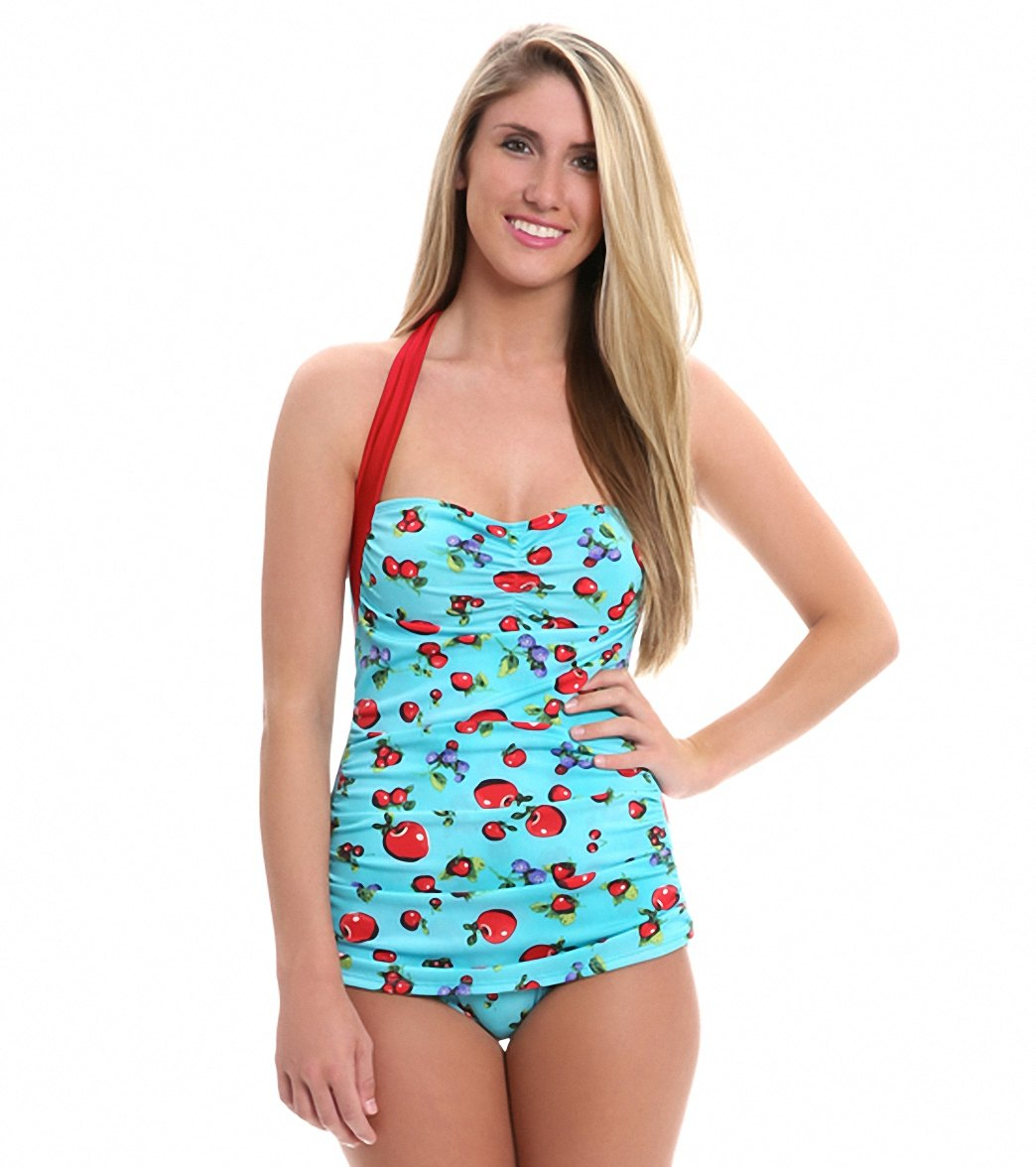 0b3afaf1d39 Girlhowdy Annie Frock One Piece Swimsuit at SwimOutlet.com - Free ...