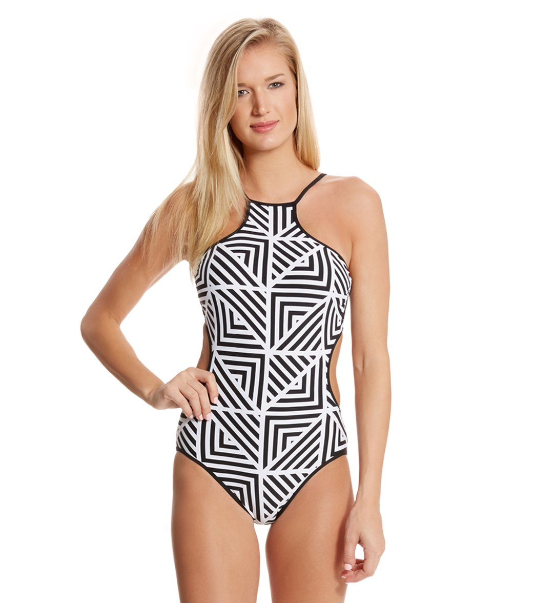 04afd0cef26c4 ... High Neck One Piece Swimsuit $182.00. Play Video. MODEL MEASUREMENTS
