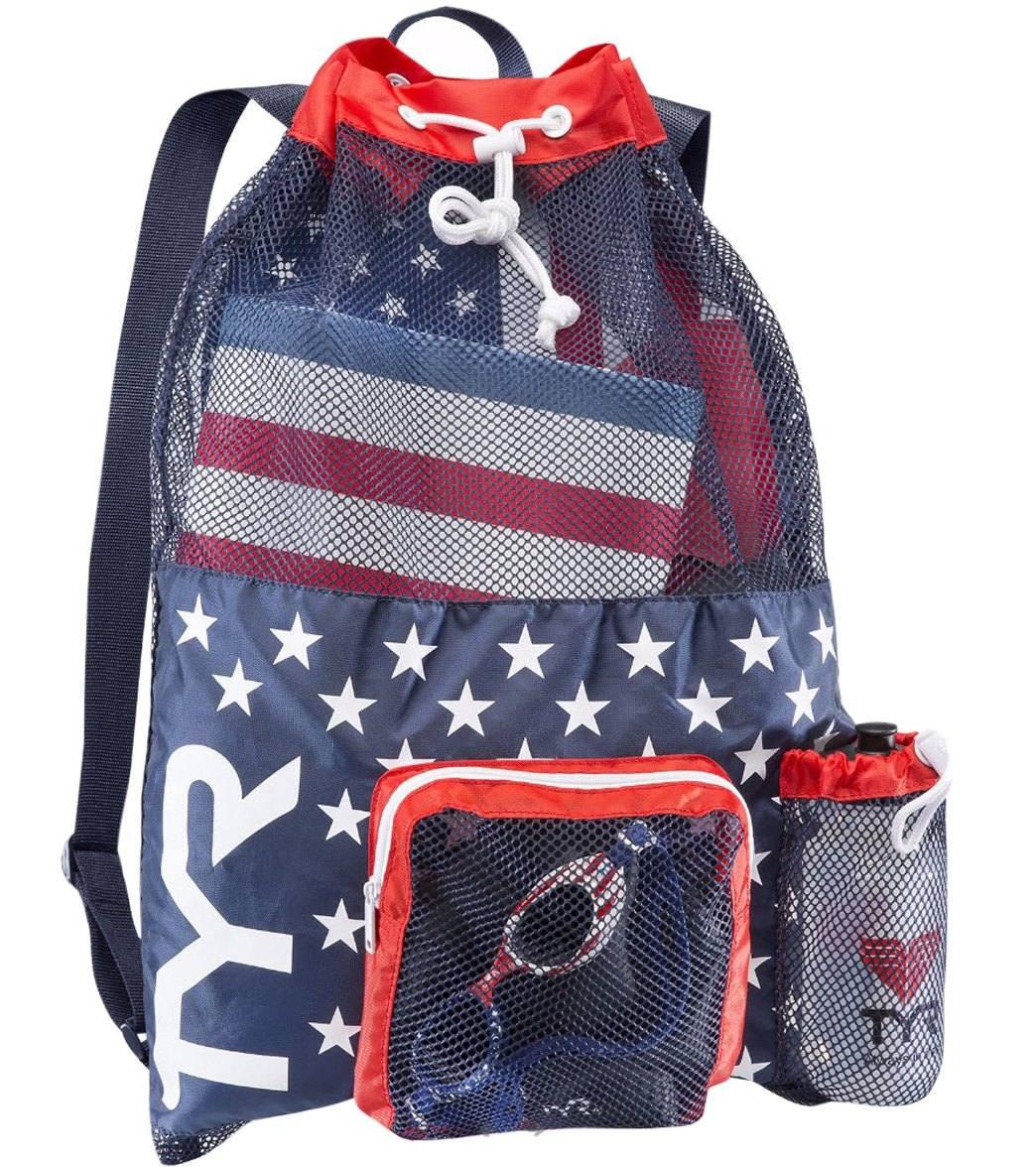TYR Big Mesh Mummy Backpack III Swimming Bag