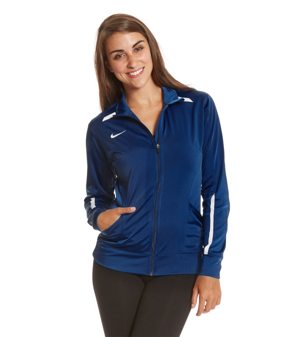 6dea4640f18f Nike Swim Women s Overtime Warm-Up Jacket at SwimOutlet.com ...