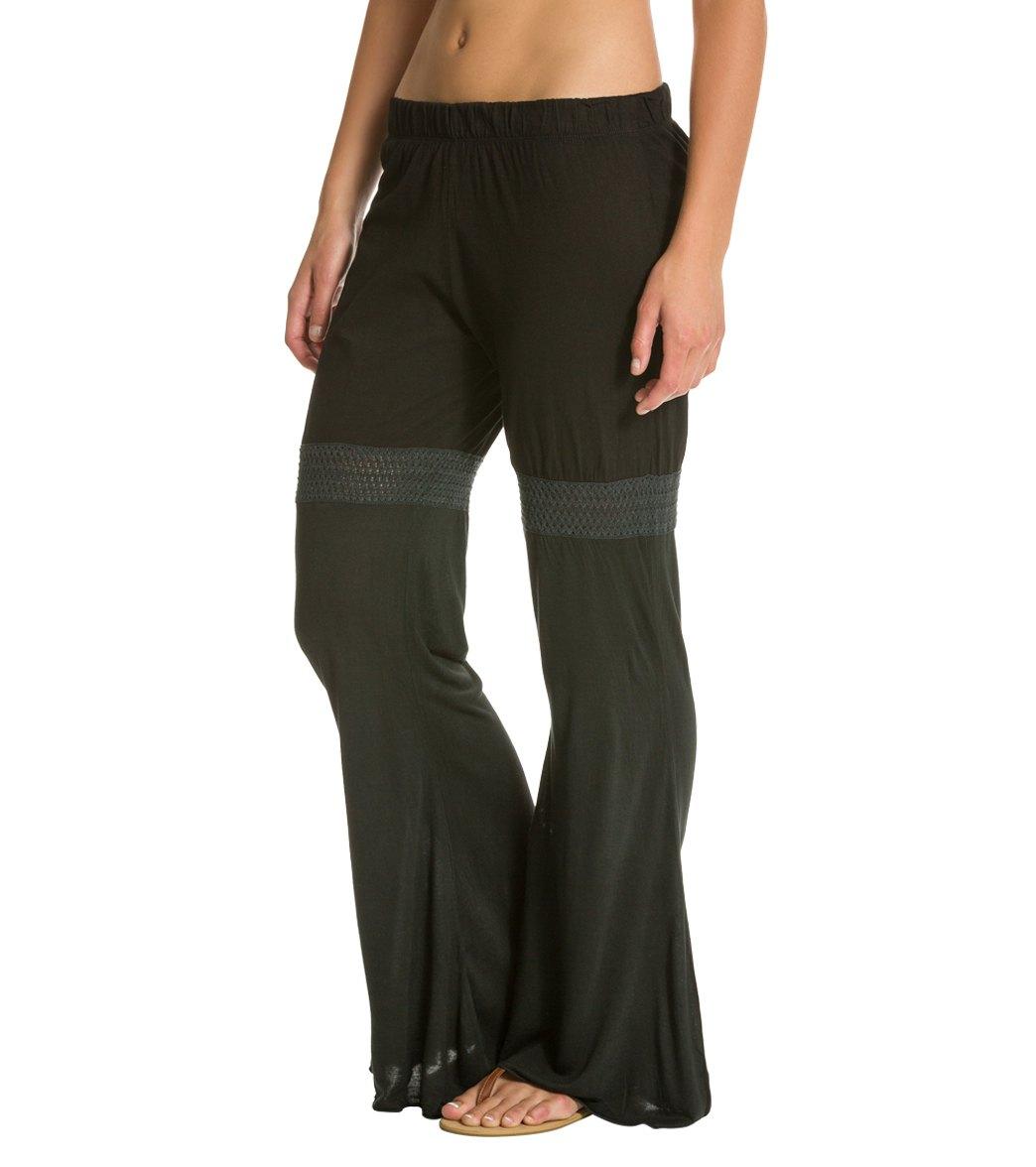 f152c121e2 Yak & Yeti Flowy Cotton Cut Out Pants at SwimOutlet.com