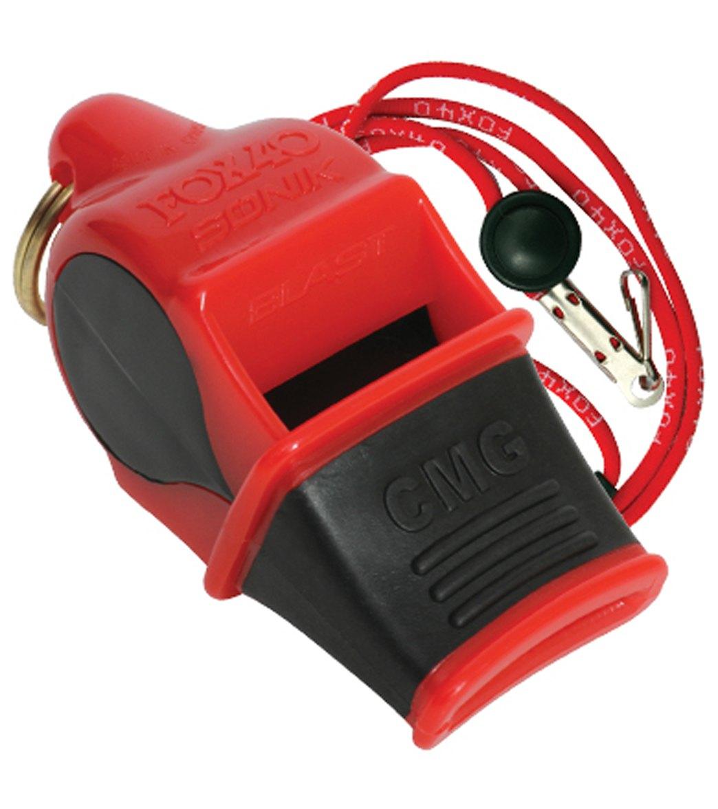 5499ac29b0eb Fox40 Sonik Blast CMG Multi Color Lifeguard Whistle w  Lanyard at ...