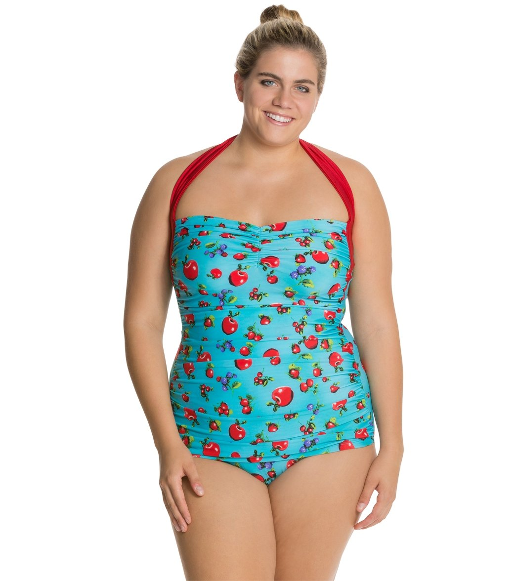 a7e4ce493ca Girlhowdy Plus Annie One Piece Swimsuit at SwimOutlet.com - Free Shipping
