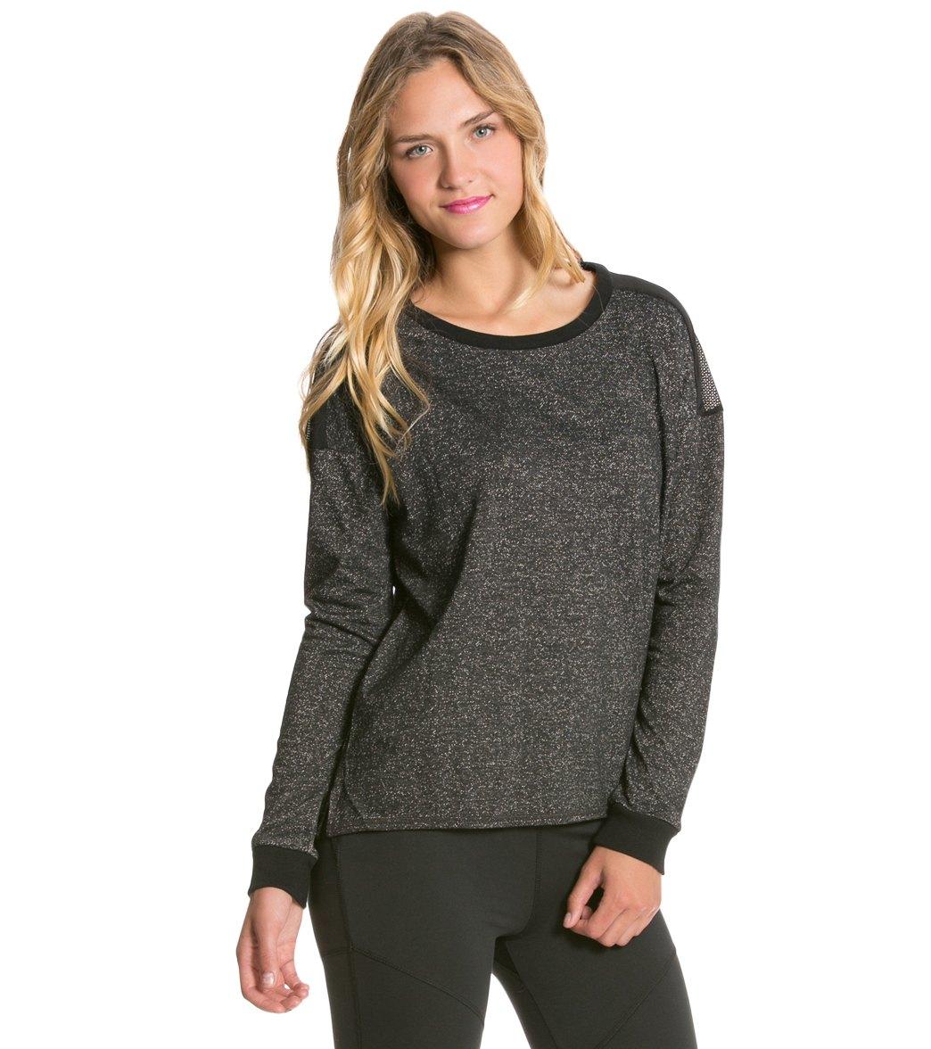Hurley Dri Fit L S Fleece Crew Sweater at SwimOutlet.com - Free Shipping ca02c2859