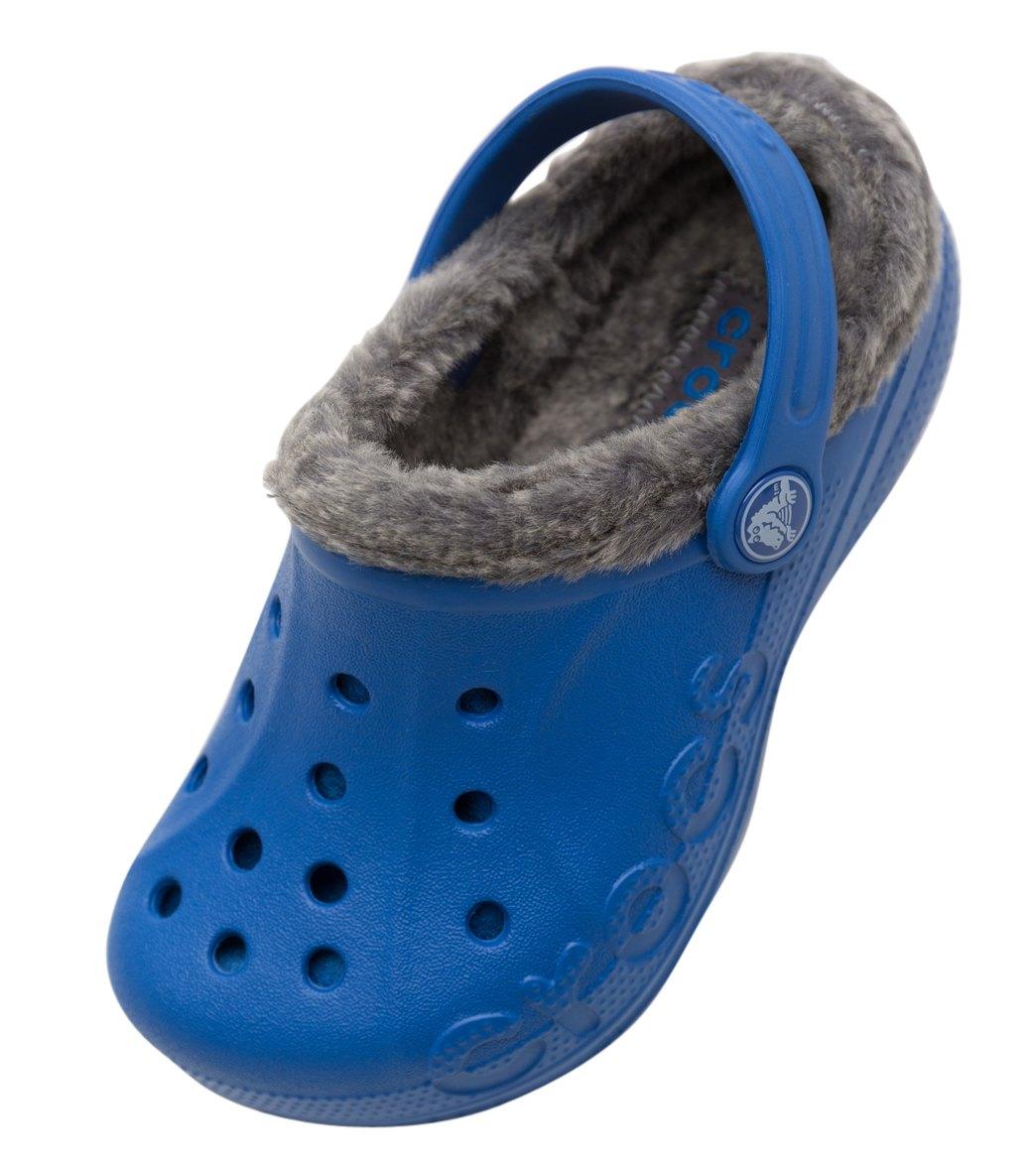 7ba6cd02cfa1 Crocs Kids  Baya Heathered Lined Clog (Toddler  Little Kid  Big Kid) at ...