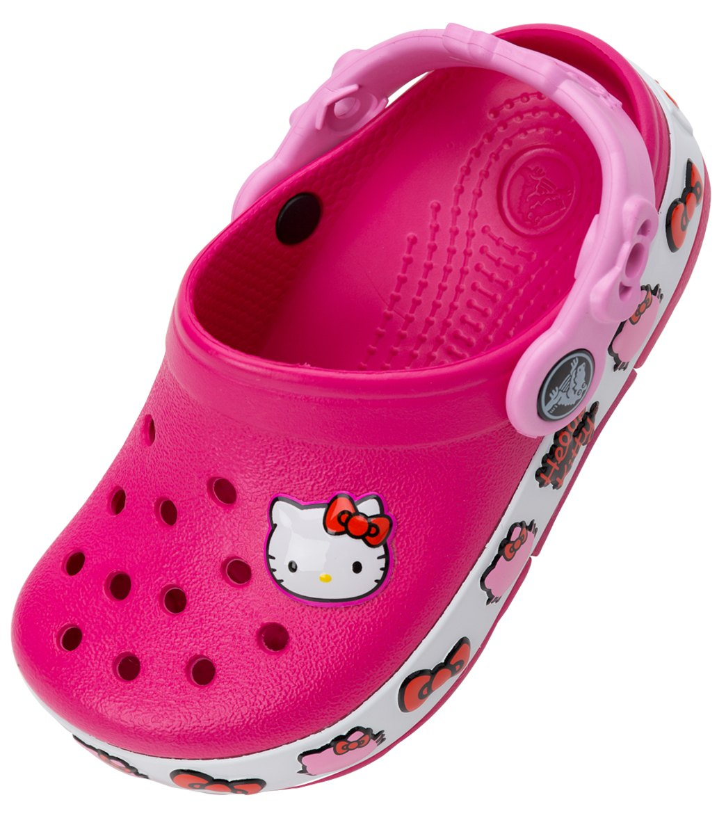 c1312e45fa709 Crocs Lights Hello Kitty at SwimOutlet.com