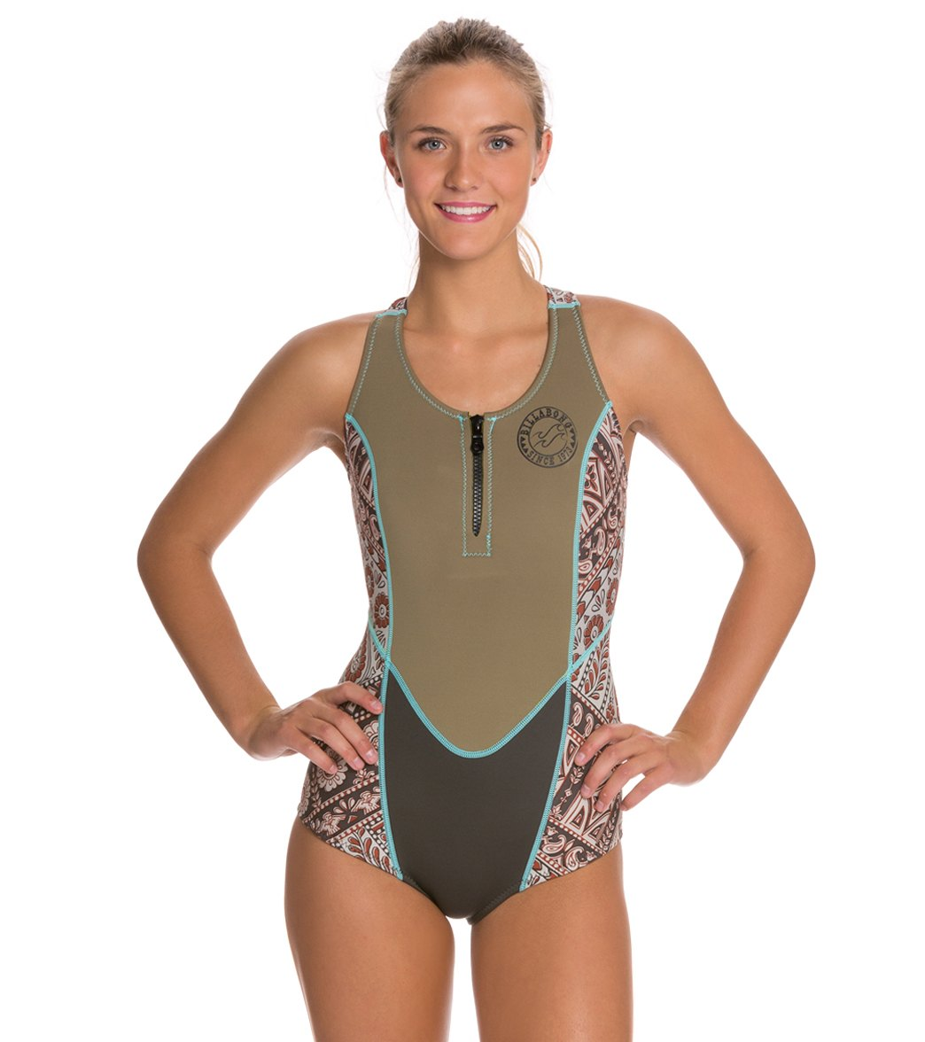 89770558f7 ... Billabong Women s 2MM Shorty Jane Spring Suit Wetsuit. Share