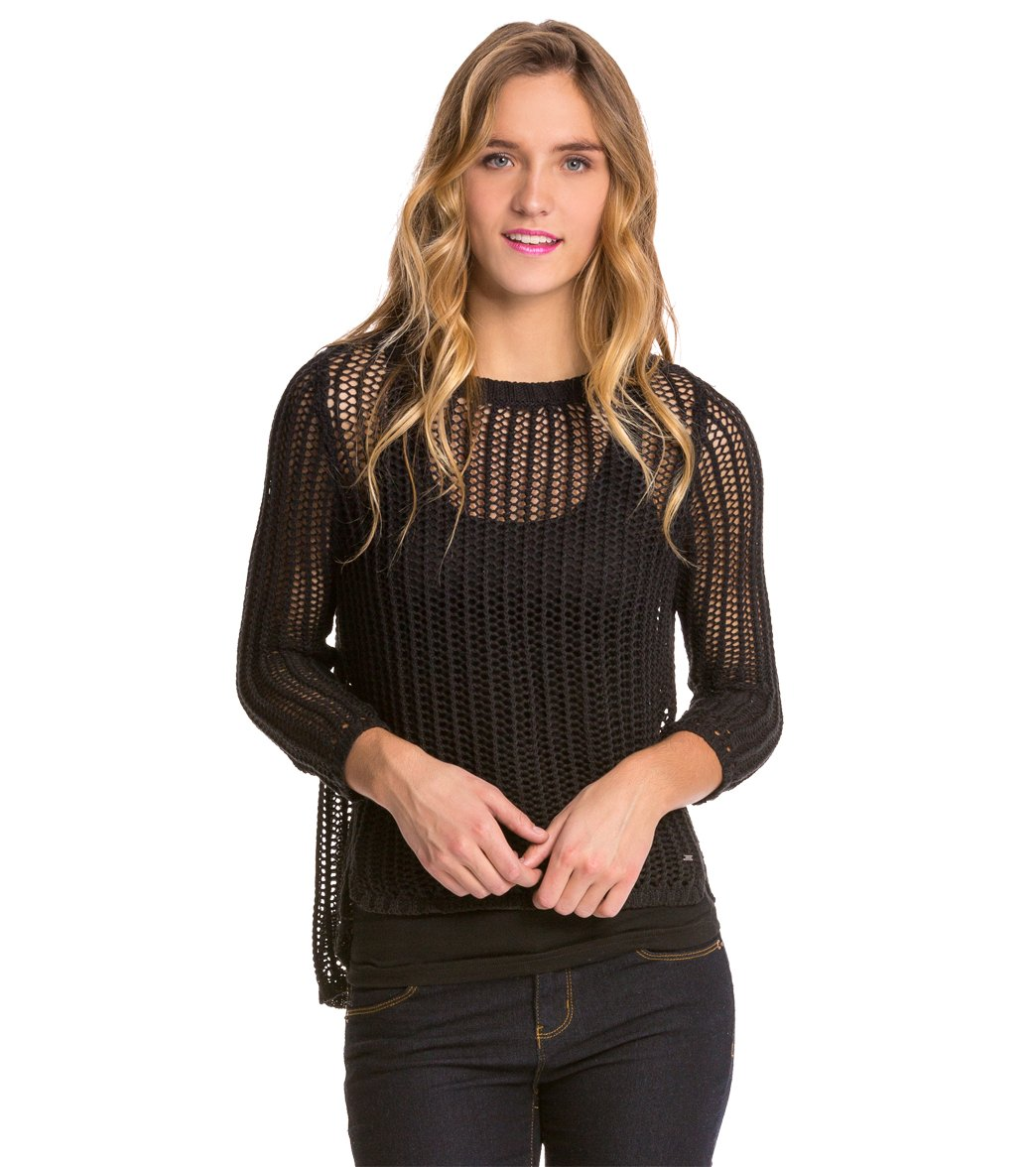 aaa4a902247 Volcom All Meshed Up Sweater at SwimOutlet.com - Free Shipping