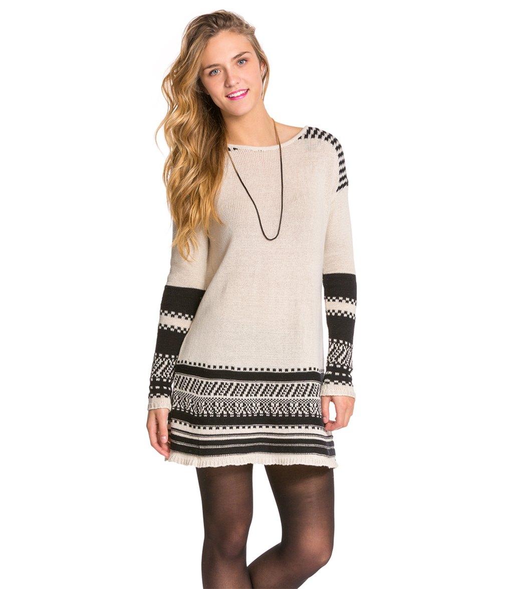 dfa2e405836 Volcom Dark Water Sweater Dress at SwimOutlet.com - Free Shipping