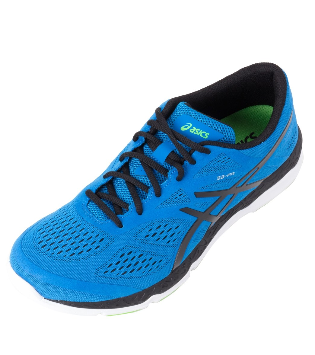 Chaussures de course Asics de Hommes 33 FA Bleu Hommes/ Asics Noir sur 22c26cc - nobopintu.website