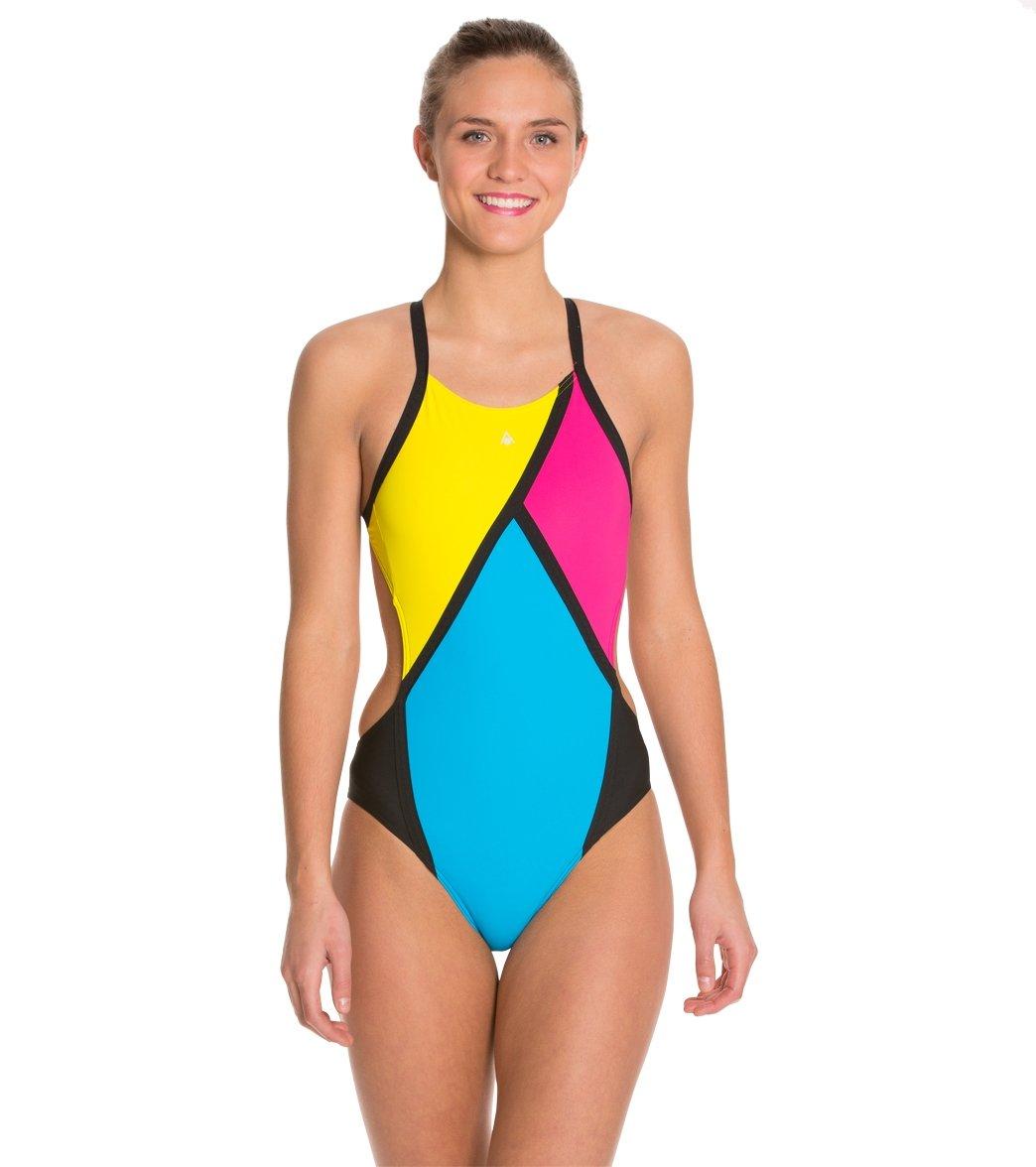 Aqua Sphere Koa Cross Back One Piece Swimsuit