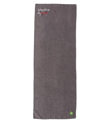 Affirmats Breathe In Love Towel At Yogaoutlet Com