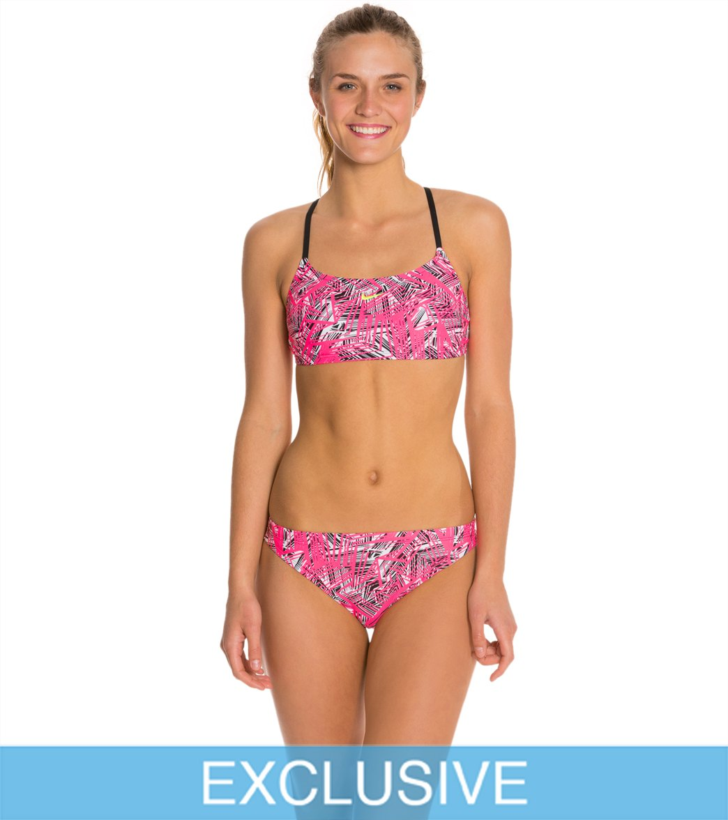 af019432988 SwimOutlet Exclusive Nike Scatterbrain 2 Piece Swimsuit Set at ...