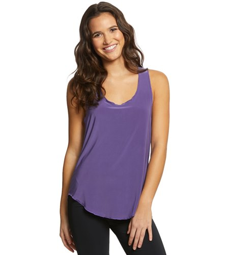 1f32020b400c6 Onzie Lightweight Glossy Flow Yoga Tank Top at YogaOutlet.com