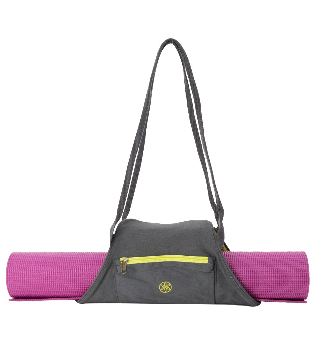 1d1cb8031fce Gaiam On-The-Go Yoga Mat Carrier at YogaOutlet.com