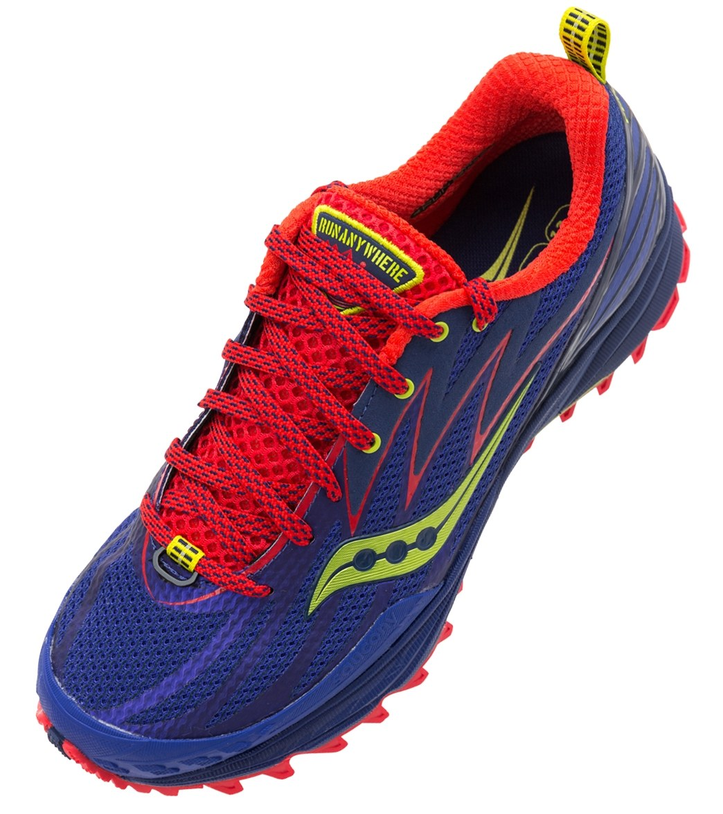 4f857223af7d Saucony Women s Peregrine 5 Trail Running Shoes at SwimOutlet.com - Free  Shipping