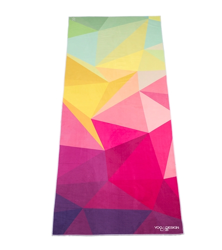 Yoga Design Lab Geo Print Hot Yoga Towel At YogaOutlet.com