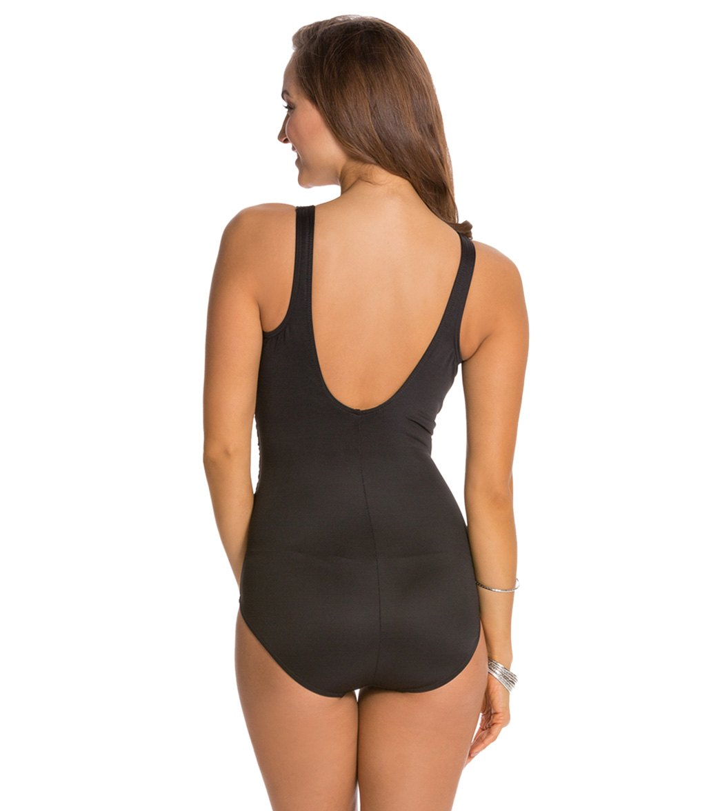 93aaf7f5cc318 Miraclesuit Solid Oceanus One Piece Swimsuit (DD Cup) at SwimOutlet ...