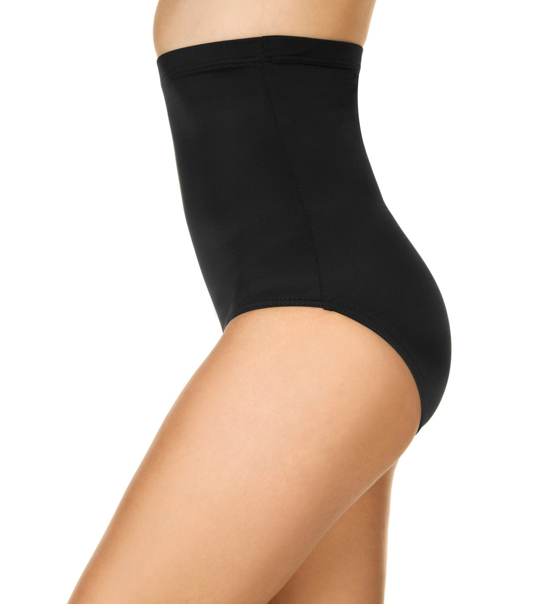 9de624b5f7937 Miraclesuit Solid Super High Waisted Bikini Bottom at SwimOutlet.com ...