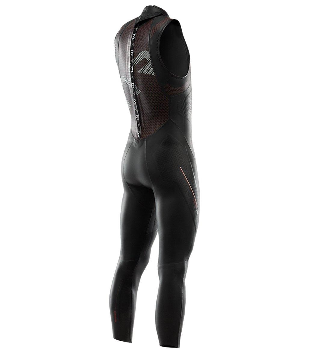5e8fe7df31cc1 TYR Men s Hurricane Cat 5 Sleeveless Triathlon Wetsuit at SwimOutlet.com -  Free Shipping
