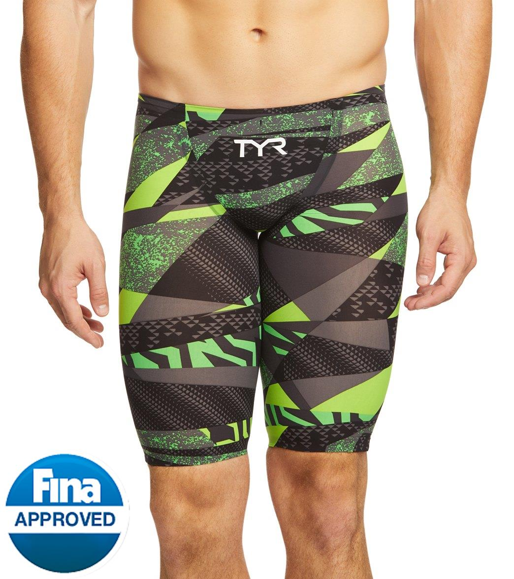 90bbd4467c3 TYR Avictor Prelude Male Short Jammer Tech Suit Swimsuit at SwimOutlet.com  - Free Shipping