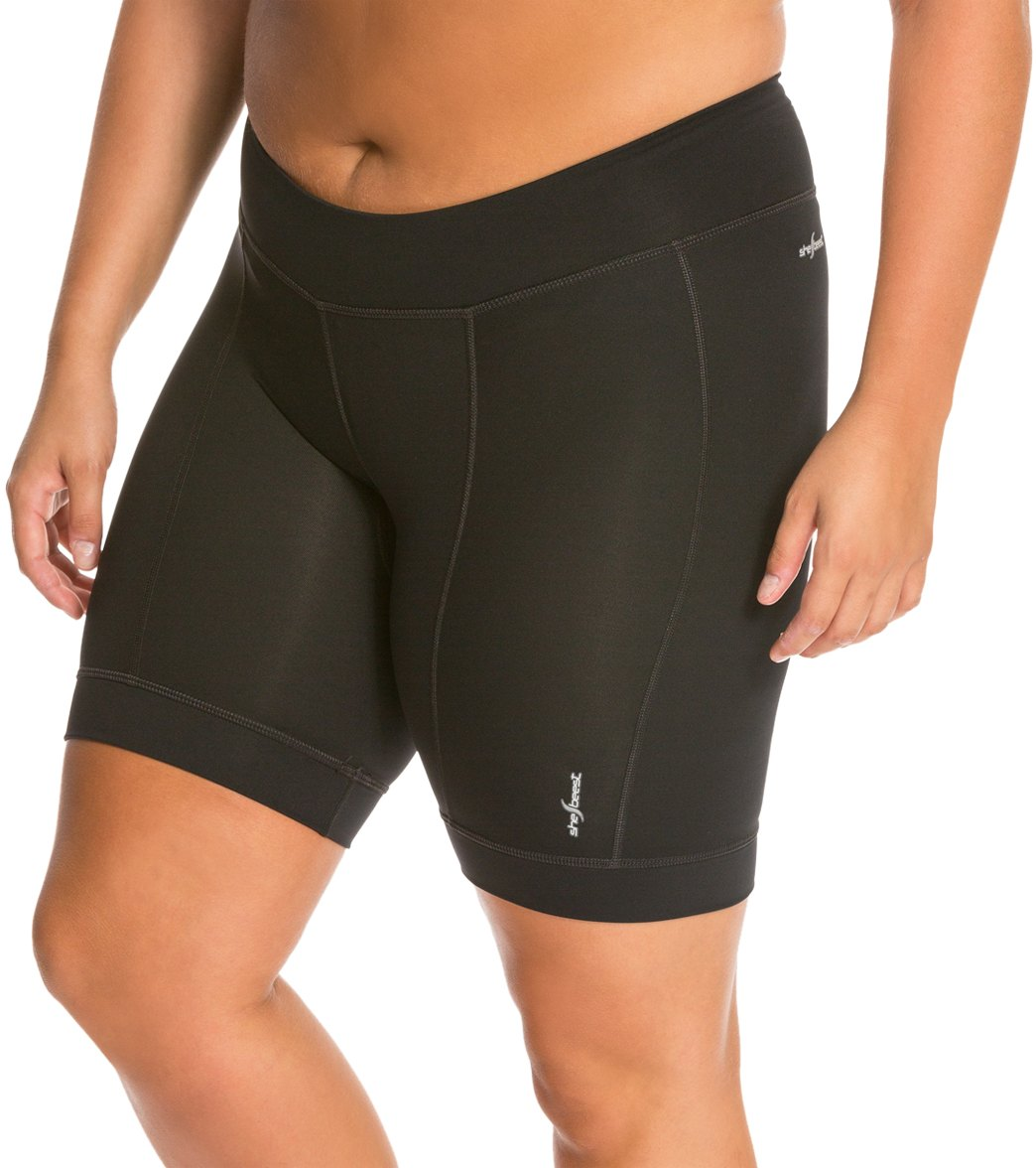 Shebeest Women s Triple S Ultimo Plus Size Cycling Shorts at ... 18f1f3f5f