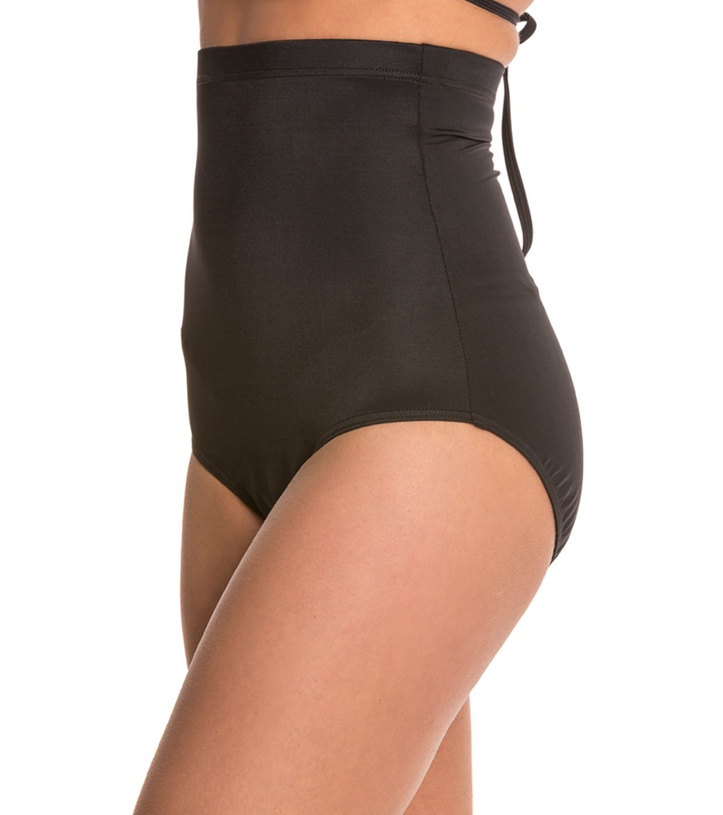 367650a0a7 Magicsuit by Miraclesuit Solid High Waisted Bikini Bottom at ...
