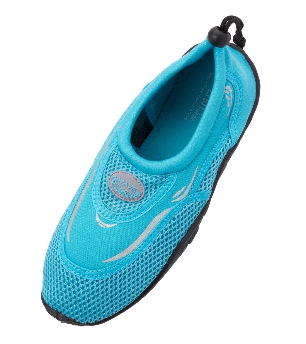 f7d8da9bb02b Easy USA Women s Mesh Top Water Shoes at SwimOutlet.com