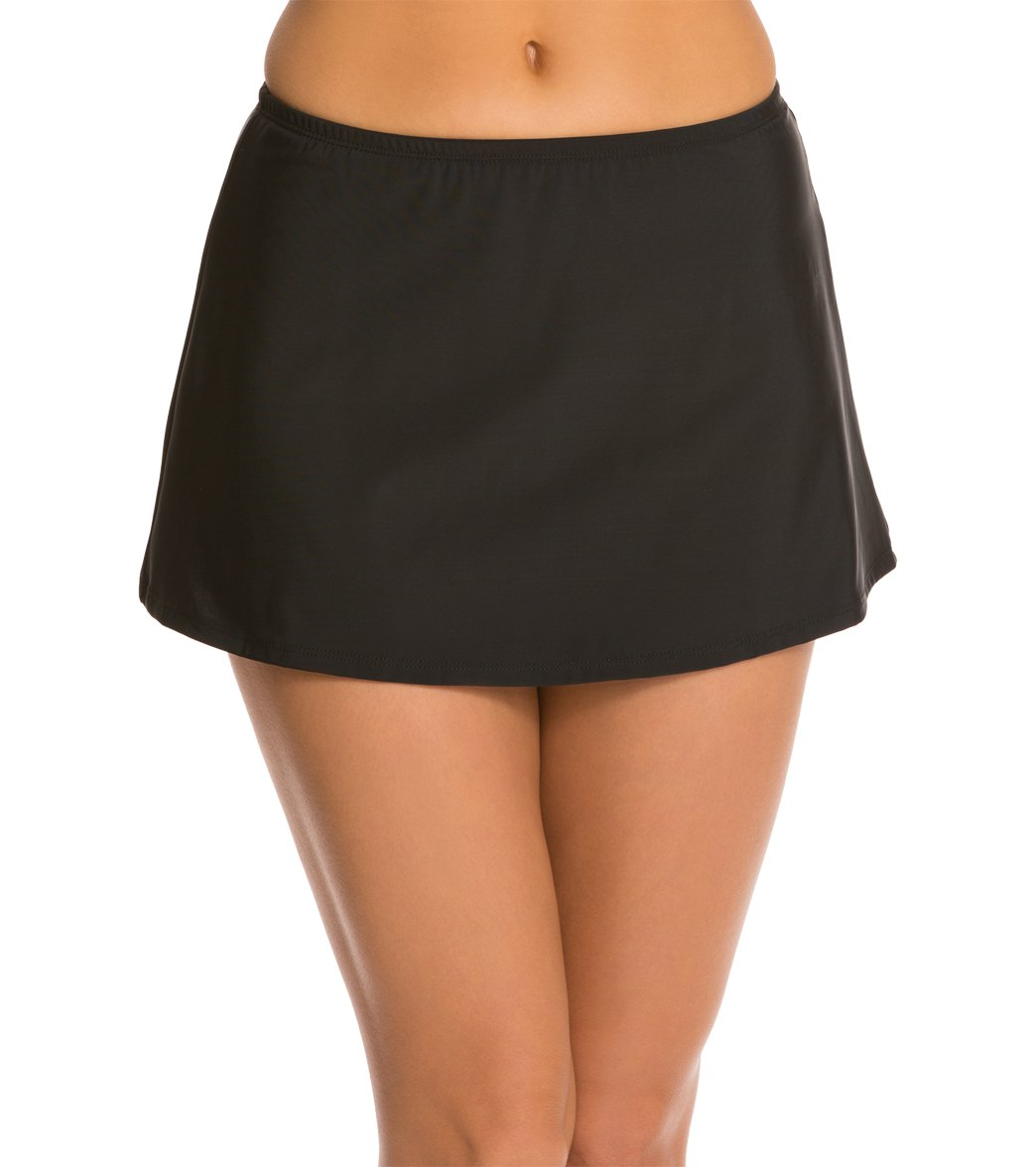 Topanga Solid Swim Skirt