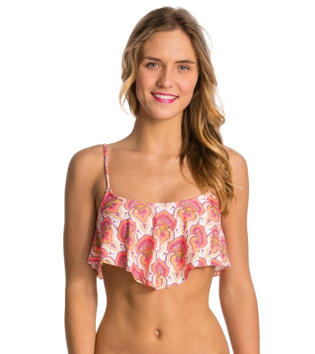 af924bbc03a14 ONeill Swimwear Vindaloo Tank Crop Bikini Top at SwimOutlet.com