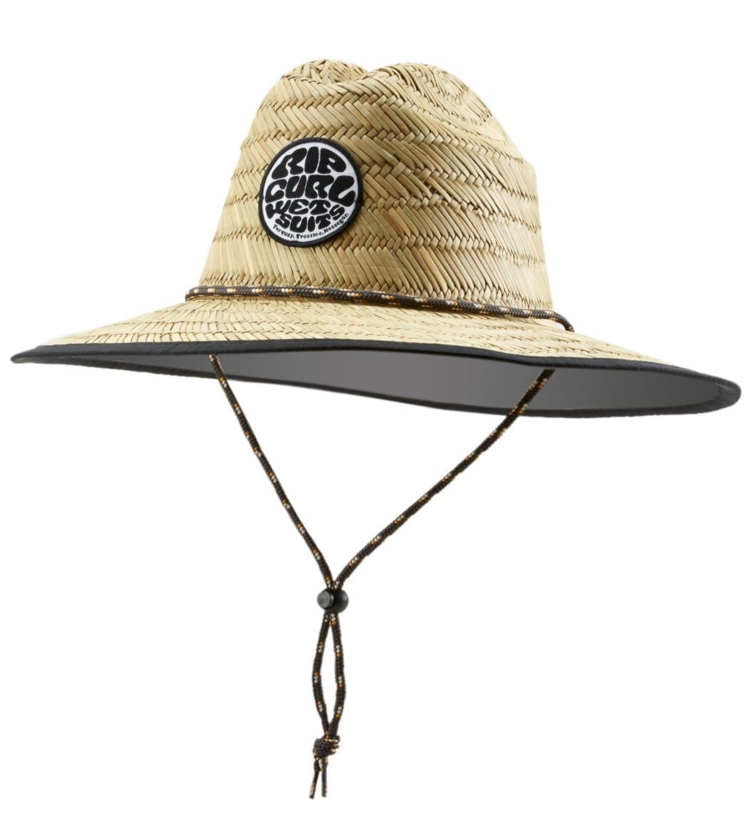 03af89b4dd5dcb Rip Curl Men's Baywatch Straw Hat at SwimOutlet.com