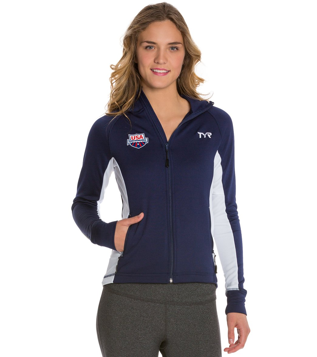 4d31a927b TYR USA Swimming Women's Alliance Victory Warm Up Jacket