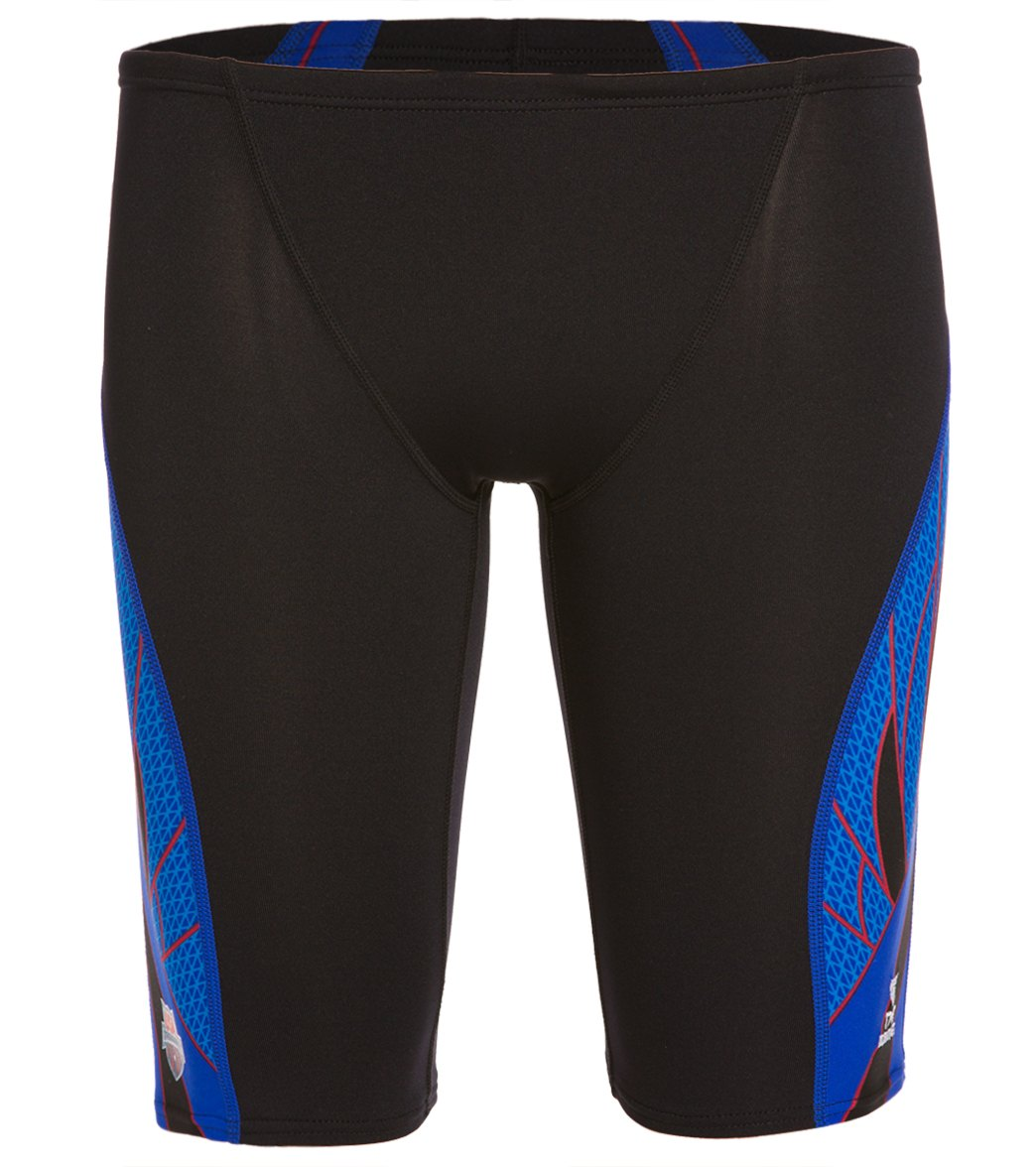53bb29c265 TYR USA Swimming Phoenix Splice Men's Jammer at SwimOutlet.com - Free  Shipping