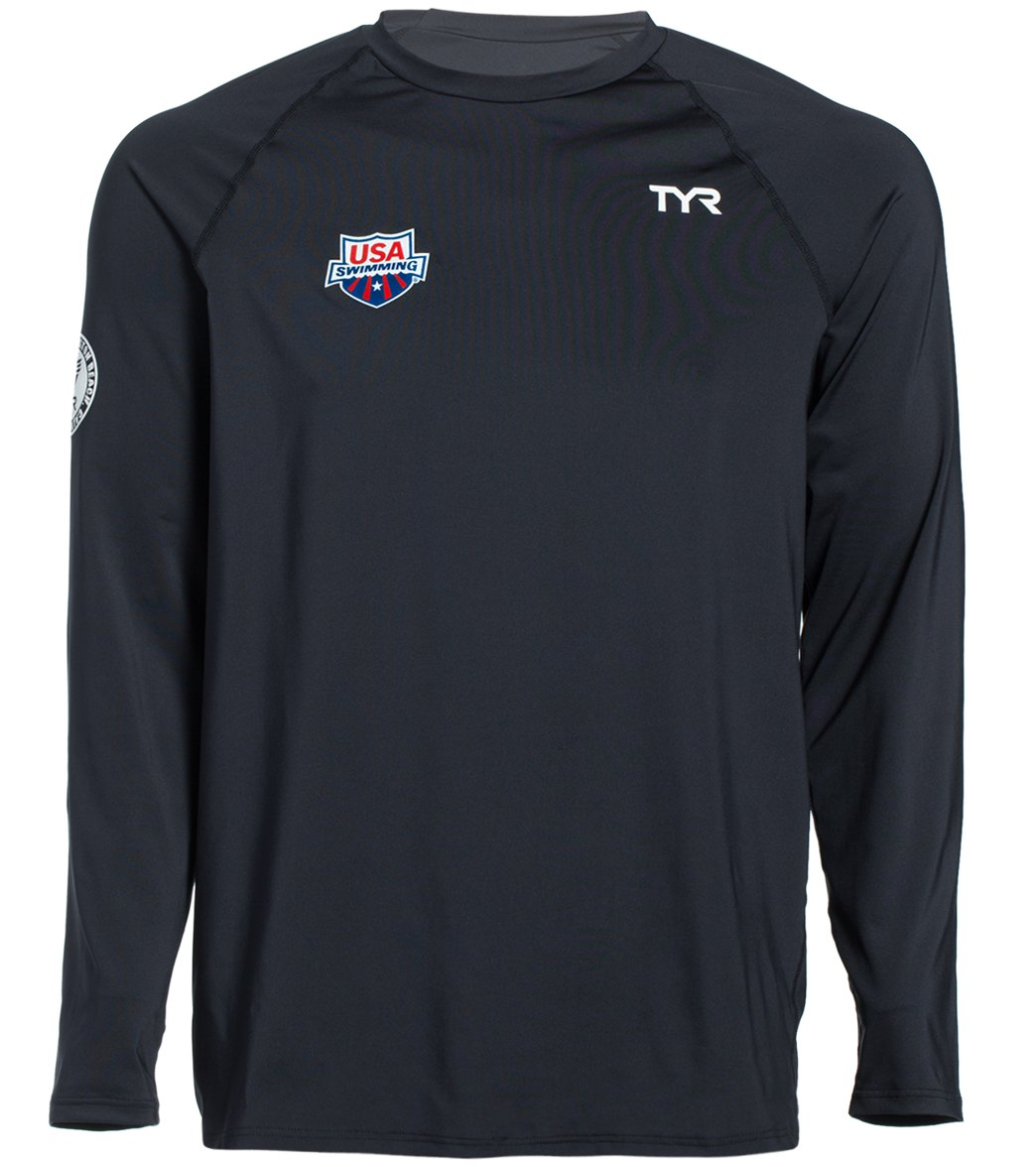 f2a7262149f7ed ... TYR USA Swimming Men s Long Sleeve Swim Shirt. Play Video. Play Video