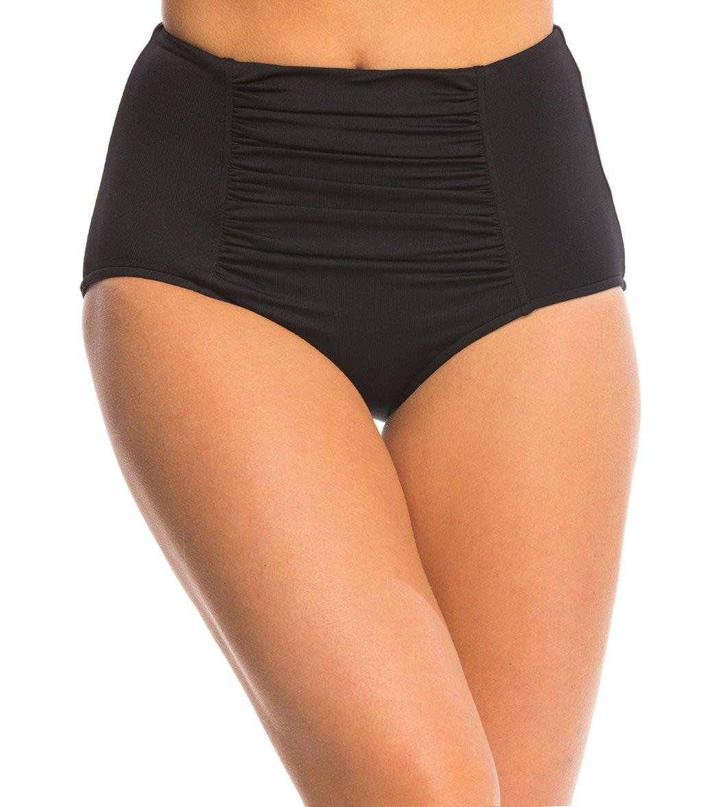 2a05f949f649d Seafolly High Waisted Bikini Bottom at SwimOutlet.com - Free Shipping