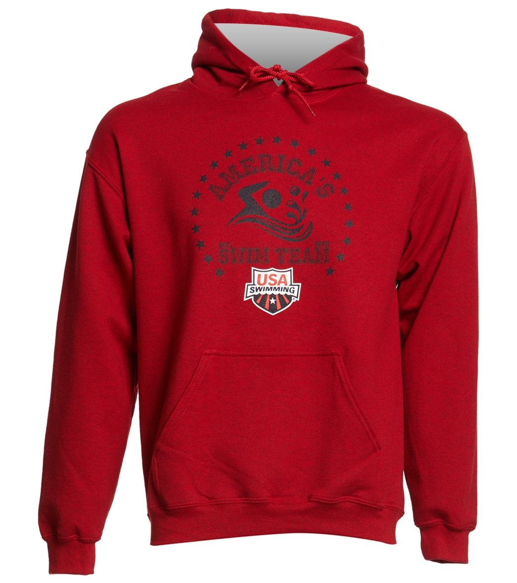 12f19b5ee918 USA Swimming Unisex Team Pullover Hoodie at SwimOutlet.com