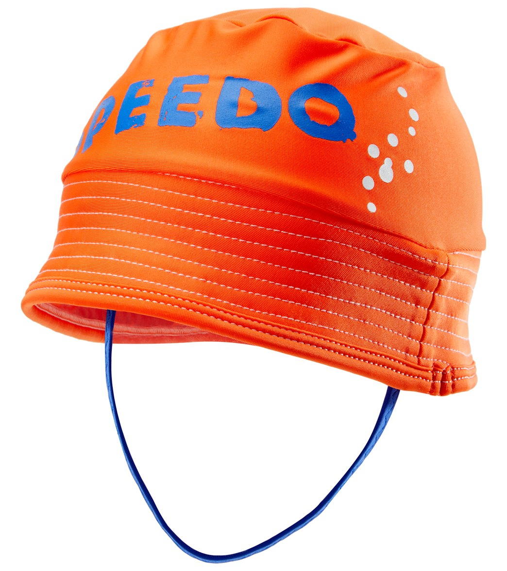 Speedo Boys  UV Bucket Hat (Infant-3yrs) at SwimOutlet.com e0e1c7f4e46