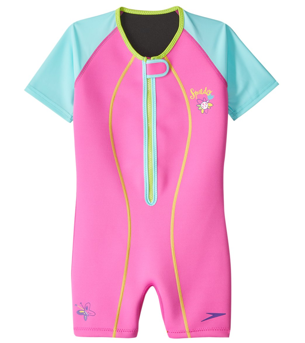 54da952dff Speedo Girls' UPF 50+ Thermal Suit (2T-10) at SwimOutlet.com