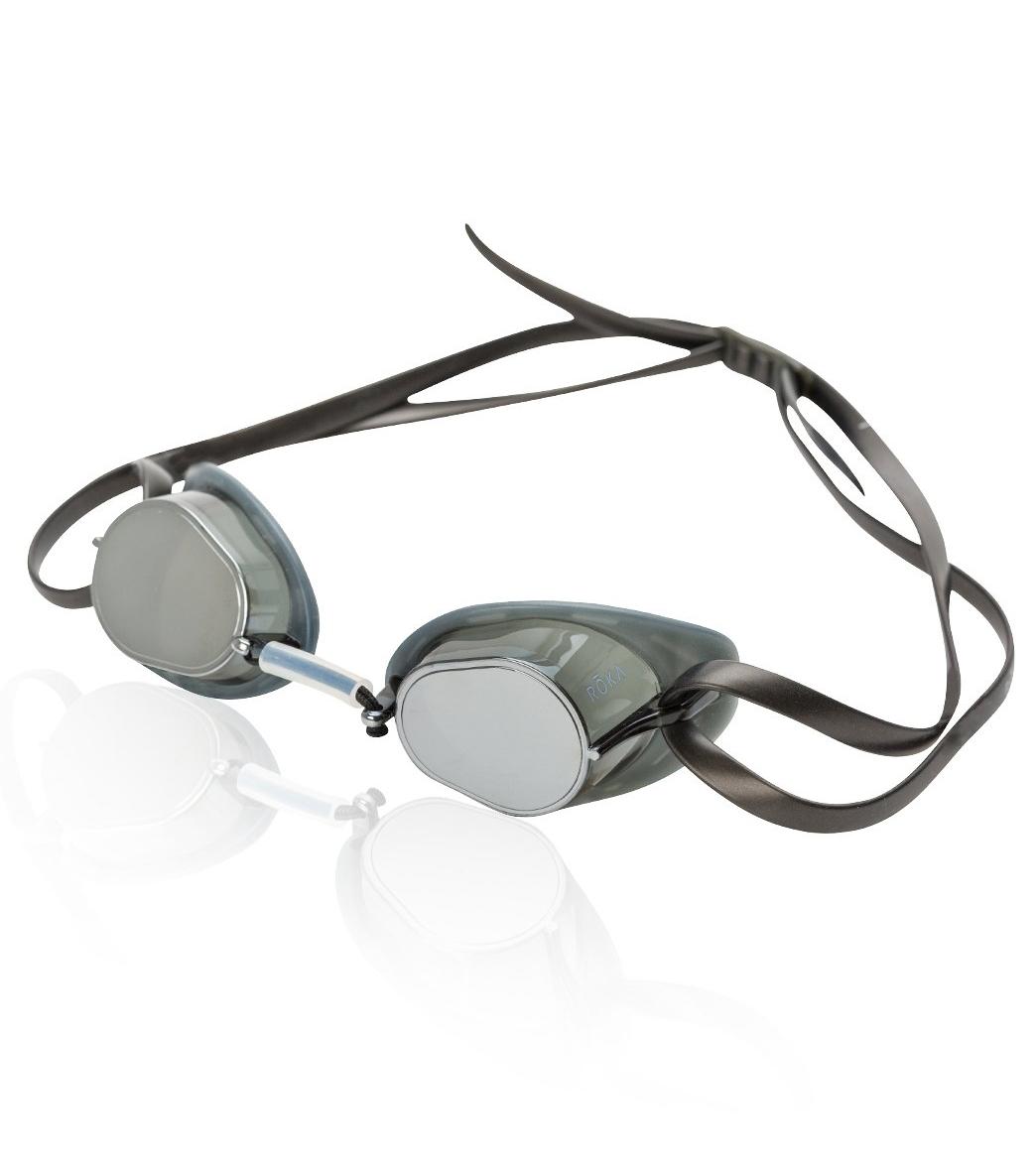 1c97f080b5 ROKA Sports S1 Gasket Swede Mirror Goggle at SwimOutlet.com