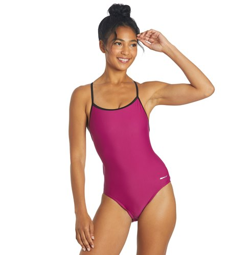 80a2ddbb6 Sporti Tie Back One Piece Swimsuit at SwimOutlet.com