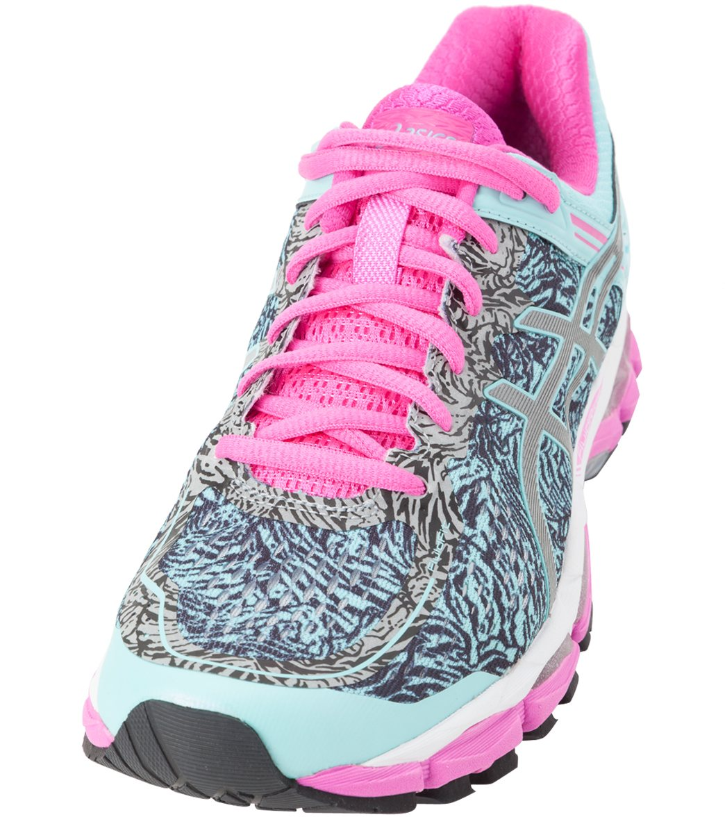 afe76c9c48fd Asics Women s Gel-Kayano 22 Lite-Show Running Shoes at SwimOutlet.com -  Free Shipping