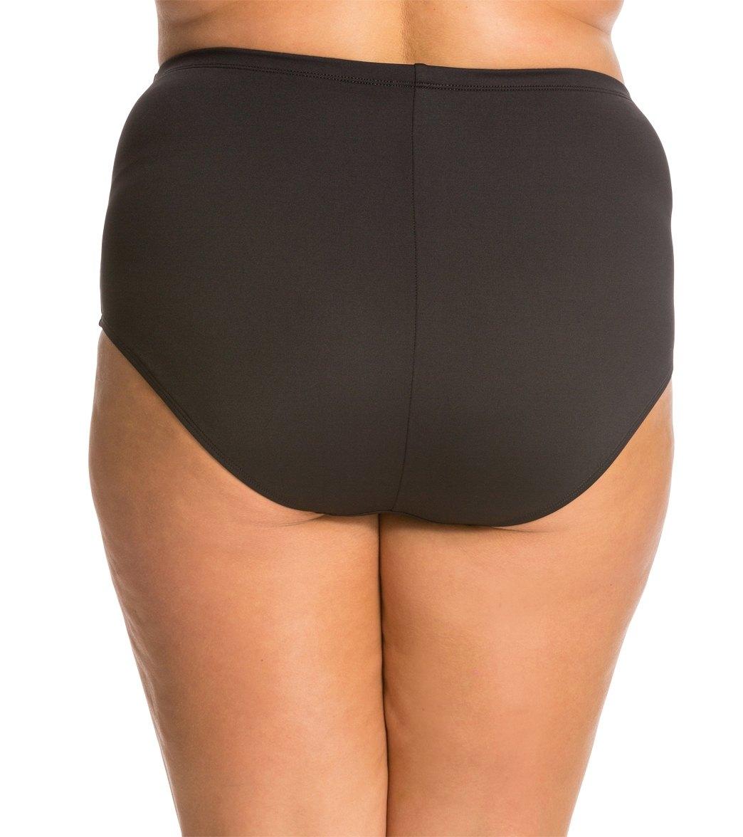 183fa139af La Blanca Swimwear Plus Size Core High Rise Bikini Bottom