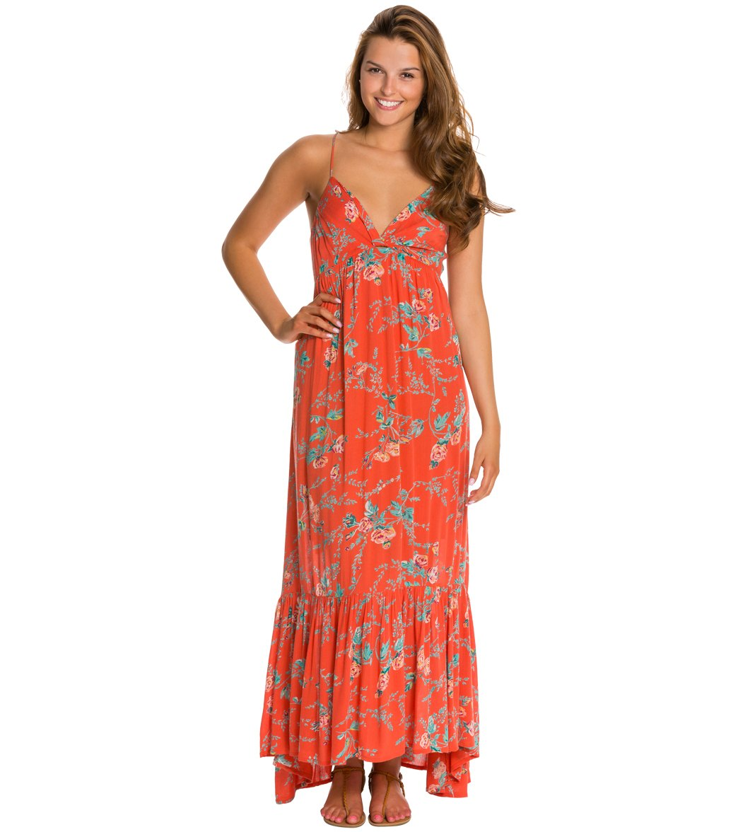 2bb58500383 ... Billabong Dream Escape Maxi Dress. Play Video. MODEL MEASUREMENTS