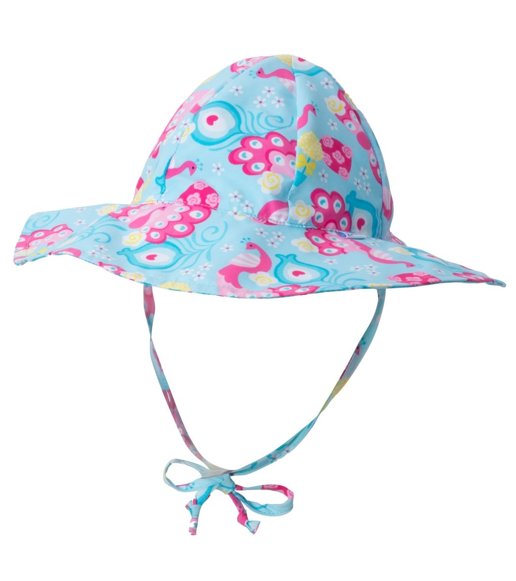iPlay Girls  Peacock Mix  N Match Rerversible Brim Sun Protection Hat ... b4c0827b30eb