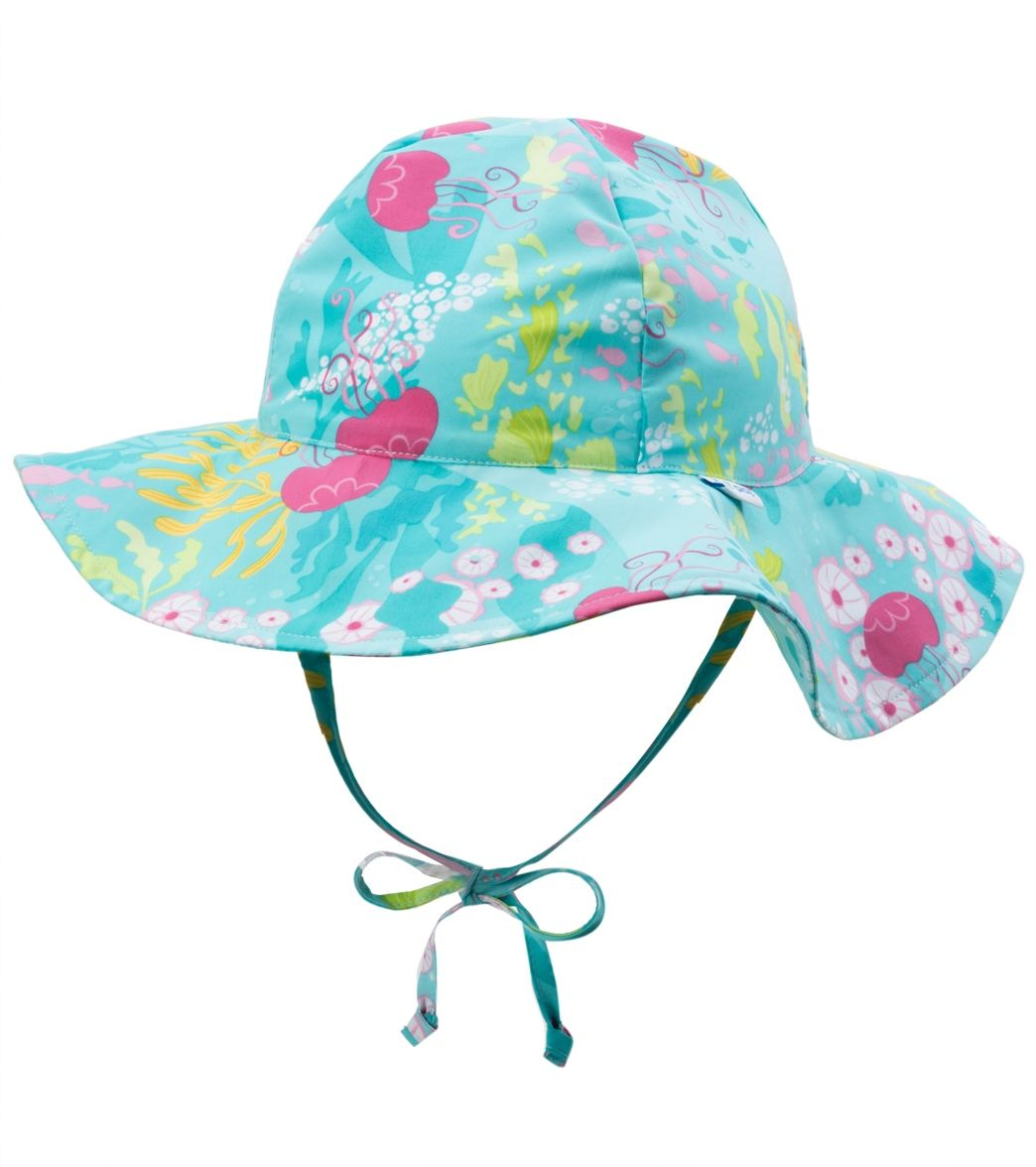 782e2d0c699 iPlay Girls  Luau Classics Brim Sun Protection Hat (0mos-4yrs) at  SwimOutlet.com
