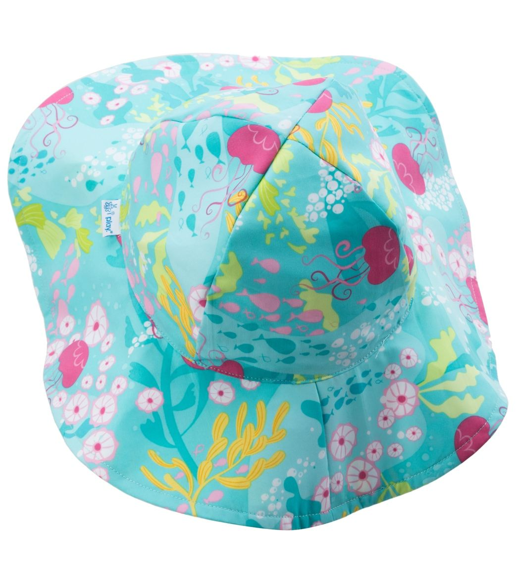 iPlay Girls  Luau Classics Brim Sun Protection Hat (0mos-4yrs) at ... bfcb219dc2d8